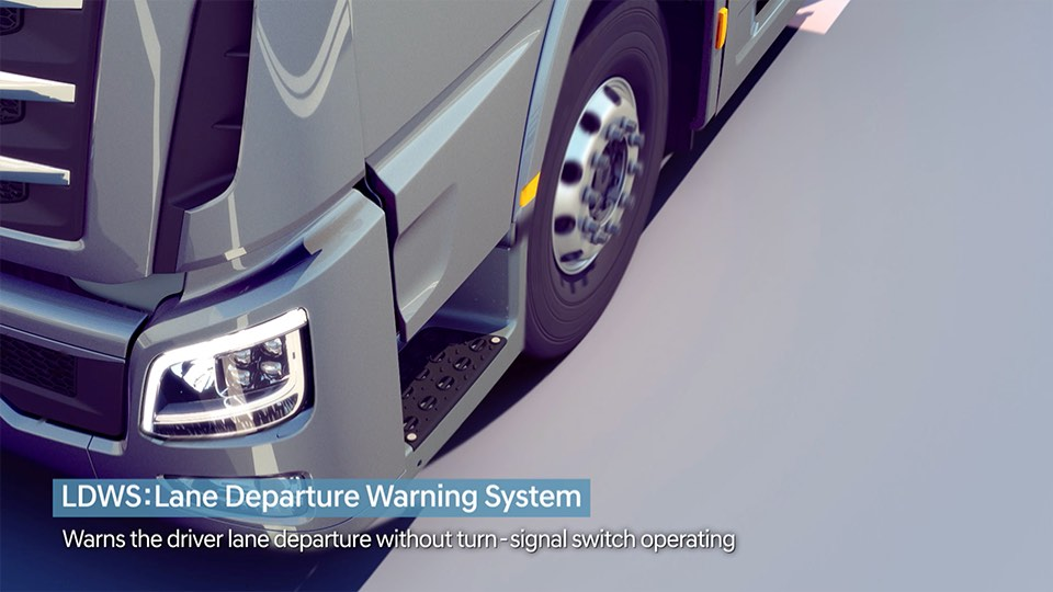 LDWS (Lane Departure Warning System)