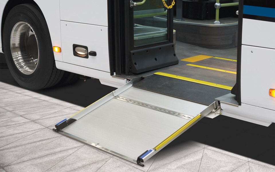 Boarding Ramp and Kneeling System