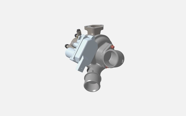Electronically controlled turbocharger
