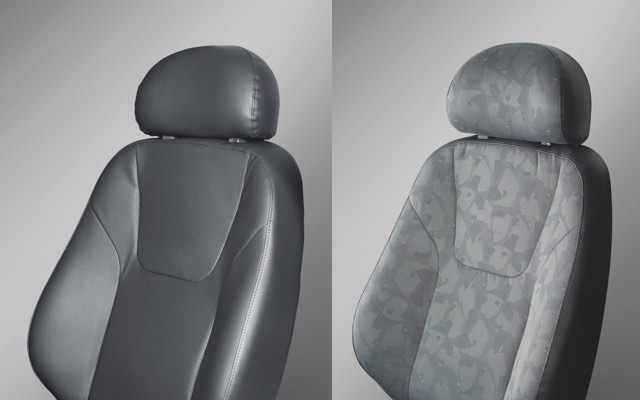 Artificial Leather & Cloth Seat