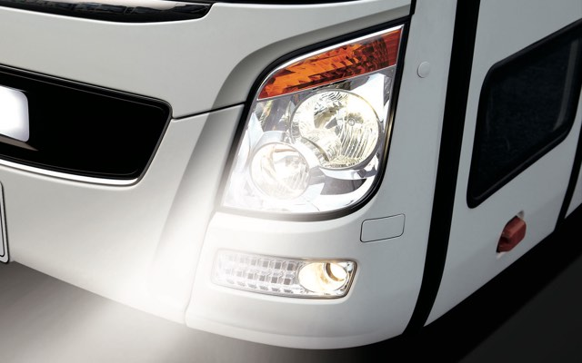 Clear head lamp (Noble)
