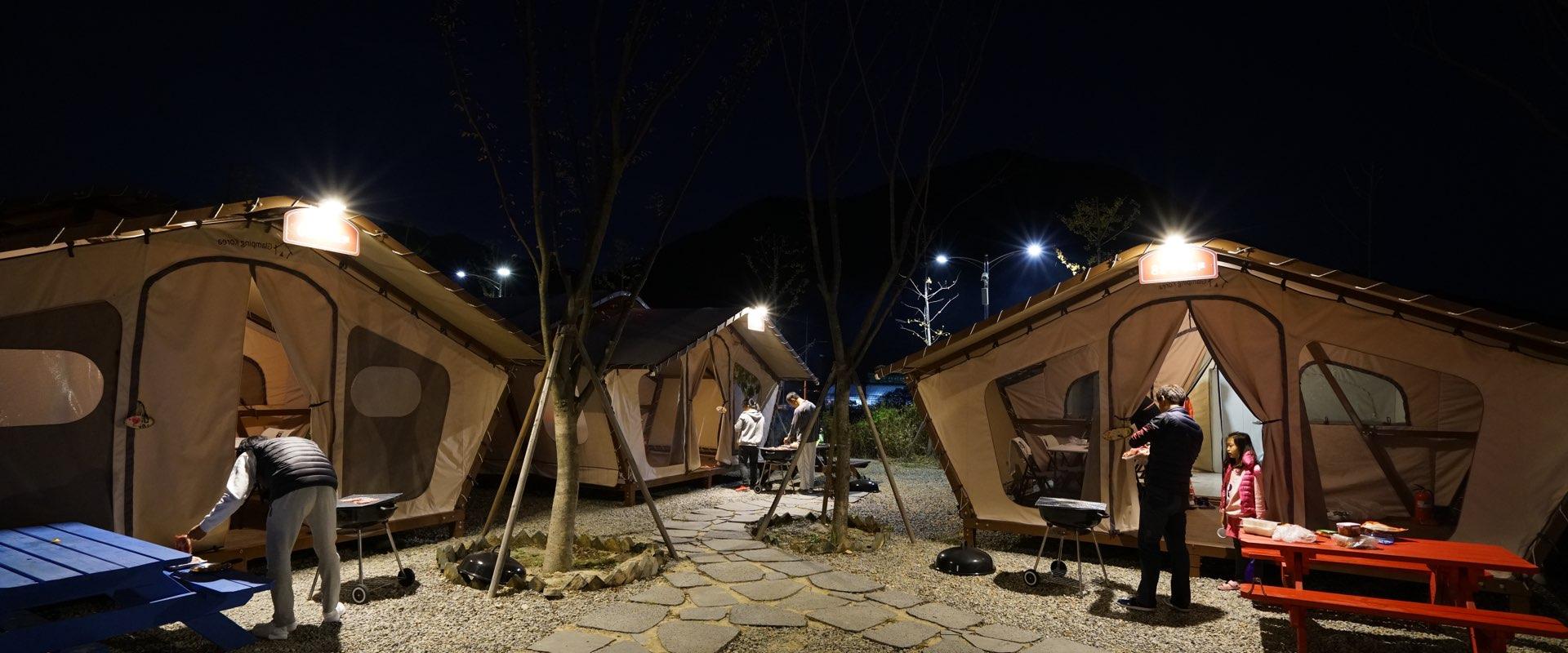 Campamento de lujo