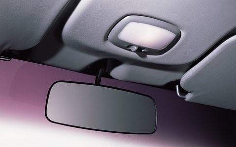 Rear View Mirror & Overhead Lamp