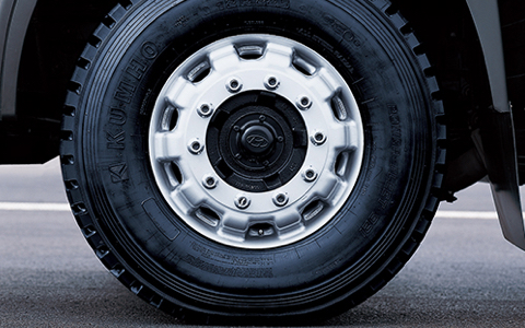 Radial Tires and Alloy Wheels