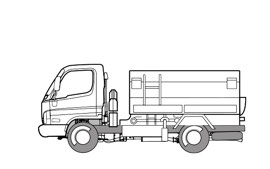 Vacuum Lorry(For Garbage Collection)