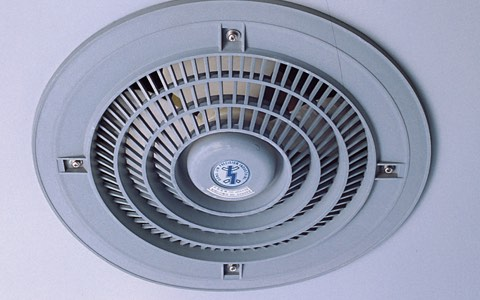 Fan-type ventilator (Opt.)