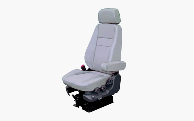 Full-air suspension driver seat