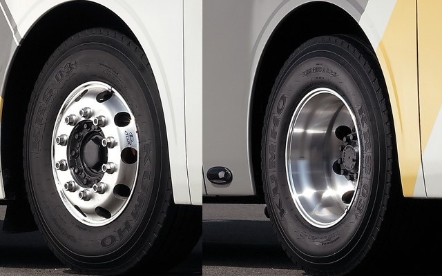 Front / Rear aluminum wheel