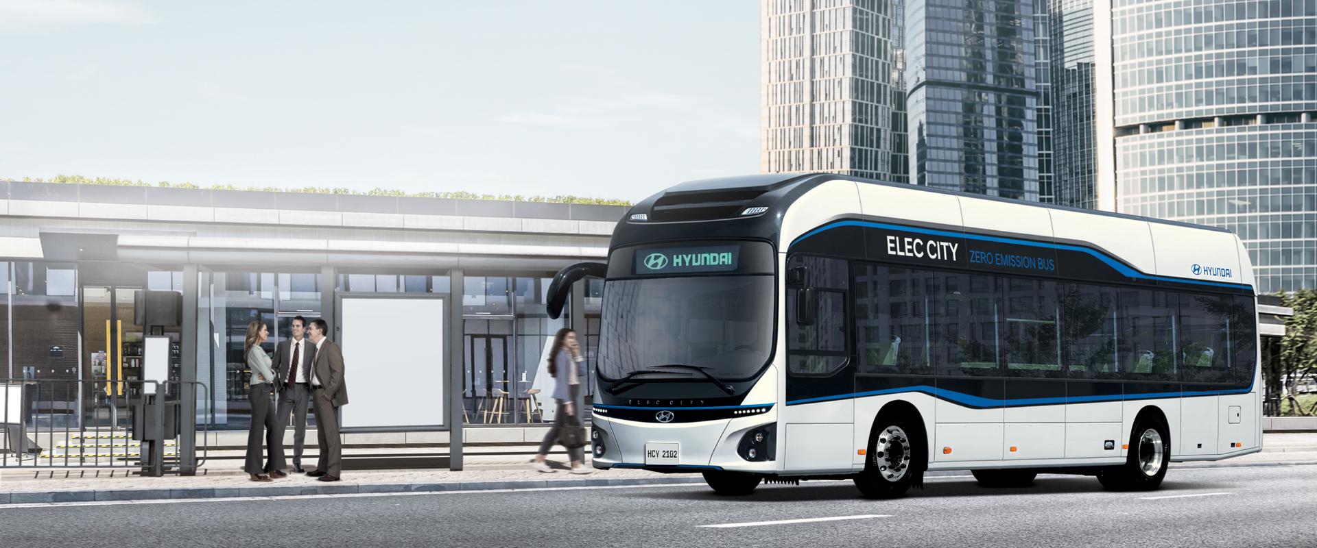 Hydrogen Electric Bus Shuttle Bus Service