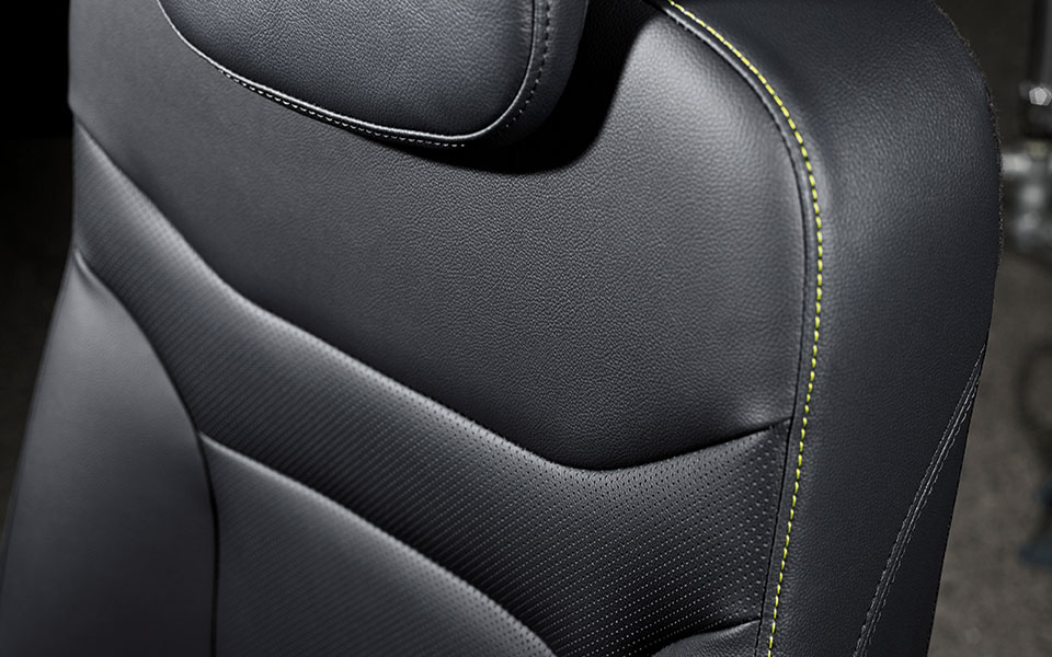 1-tone Synthetic Leather Air-suspension seat