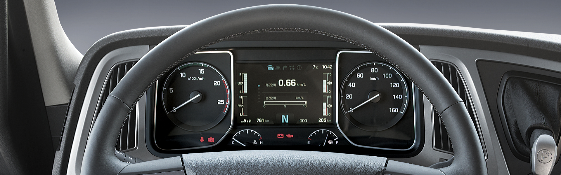 Comfortable driving time (Multi Display)