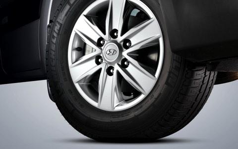 16″ Alloy wheels
