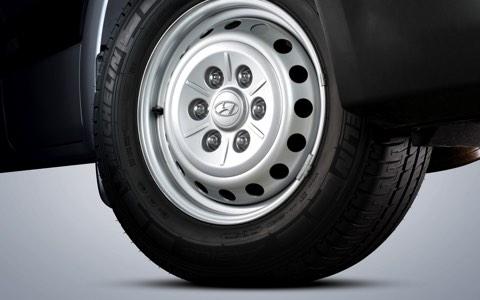 16″ Steel wheels