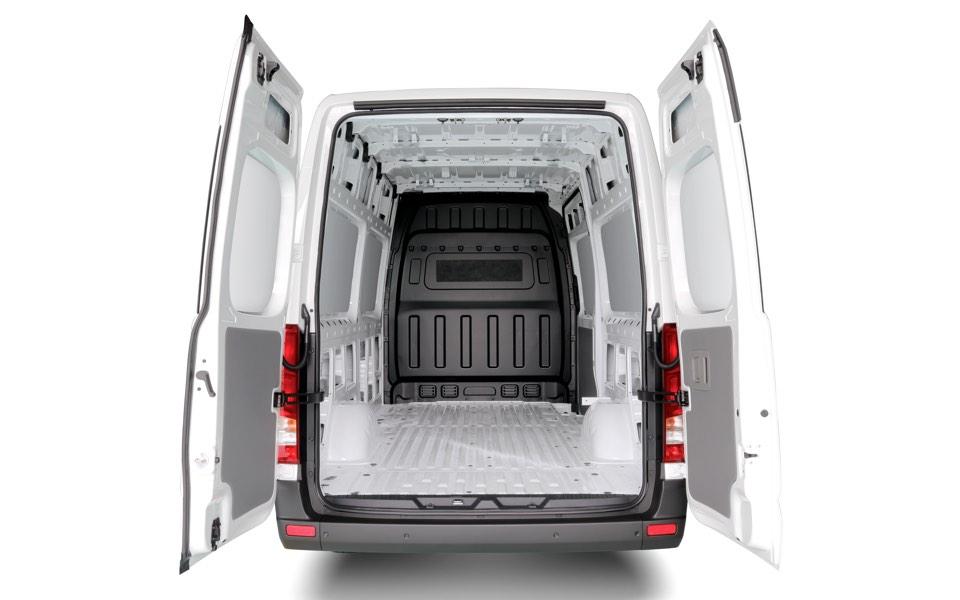 270-degree opening rear doors