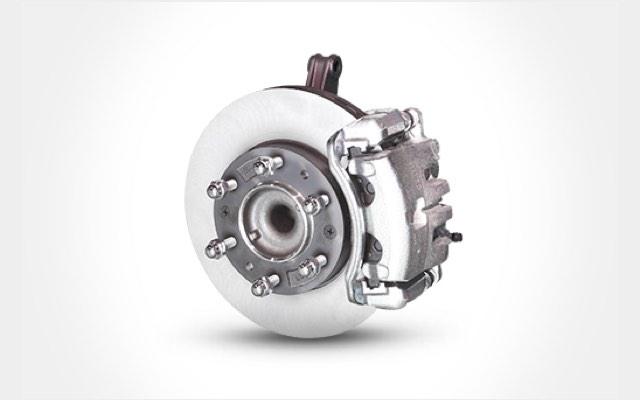 4-wheel disc brakes