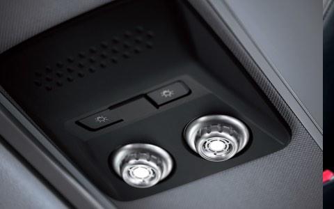 Center seatback console